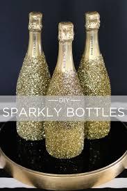 Champagne Bottle Decoration 17 Best Ideas About Glitter Champagne Bottles On Pinterest