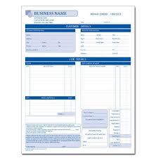 auto body repair invoice automotive repair invoice auto body repair vehicle
