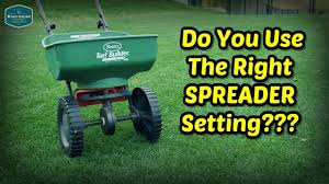 Fertilizer Spreader Settings How To Calibrate Spreader For Milorganite And Other Fertilizers