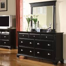Mirrored Bedroom Dresser Roundhill Furniture Wayfair Laveno 7 Drawer Dresser With Mirror T