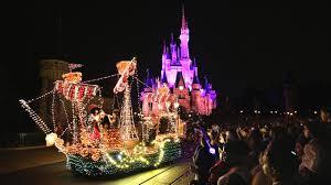 Electric Light Parade Disneyland Main Street Electrical Parade Ends Run At Walt Disney World