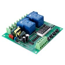 YYB-3 220V 2-Channel Relay Board Motor Driver Shield Board 0.1S ...