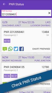 Live Train Chart Pnr Status Live Train Status 4 0 Apk Download Android