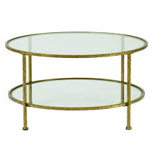 home decorators collection bella aged gold coffee table 9501200910 the home depot