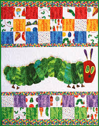 Very Hungry Caterpillar, Baby Quilt, Toddler Blanket, Made in USA ... & Very Hungry Caterpillar, Baby Quilt, Toddler Blanket, Made in USA, 100  Percent Adamdwight.com