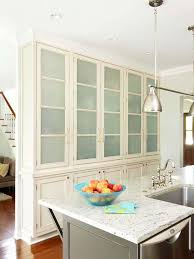 Glass kitchen cabinet doors Antique Frostedglass Cabinet Doors Better Homes And Gardens Glassfront Cabinetry