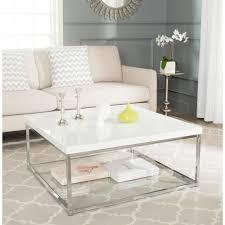 safavieh malone white coffee table