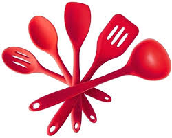 red kitchen accessories set red kitchen silicone utensils set tableware cooking tools gadgets organizer for household red kitchen accessories