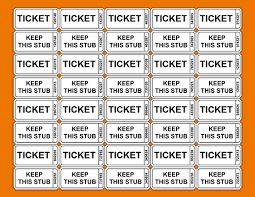 3 Printable Raffle Ticket Template Teknoswitch
