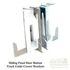 sliding closet door guide bottom track medium home depot trac