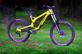 nukeproof pulse dh purple rain bike insel s bike check vital mtb