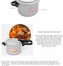Nồi áp suất cơ dùng được trên bếp từ Supor YL183F5 - 3.5 Lít
