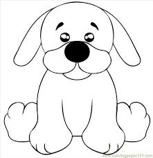 Drawing Pages Draw A Black Lab Puppy Step 5 Coloring Page Free Dog Coloring