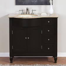 bathroom single sink vanity cabinet. bathroom vanities with sink on top silkroad exclusive travertine stone single vanity lavatory cabinet