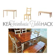 IKEA HACK: FROM IKEA INGO TO FARMHOUSE TABLE | Home Decor Ideas ...