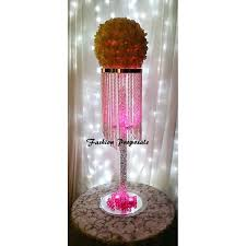 table chandelier crystal