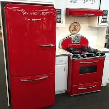 retro style refrigerator appliances smeg 50s fridge