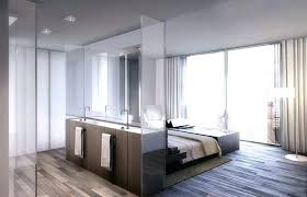 Open Concept Master Bedroom And Bath Open Bedroom Bathroom Open Bedroom  Bathroom Design Modern Apartment Interiors . Open Concept Master Bedroom  And Bath ...