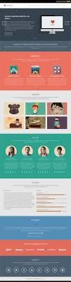 one page website template lovinflat one page bootstrap 3 template webdesign pinterest