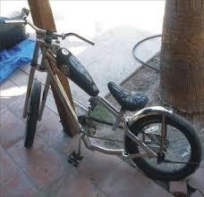 rare chrome frame jesse james west coast choppers bicycle 20