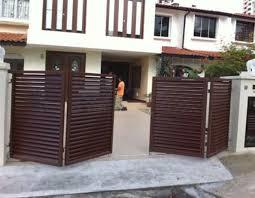 folding driveway gate just awesome driveway gates