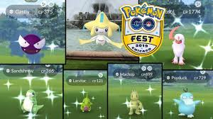 POKEMON GO FEST CHICAGO 2019! | SHINY ABSOL + GASTLY, MACHOP & MORE! |  JIRACHI QUEST COMPLETE! - YouTube