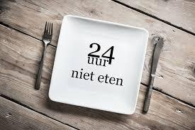 24 uur niet eten
