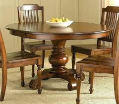 Seater Round Wooden Dining Table Set Furniture Ideas