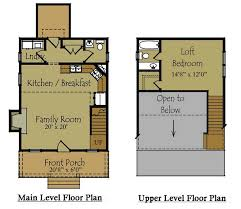 Tiny House Free Floor PlansTiny house floor plan for a modest home that highlight and prioritize comfort for the occupants