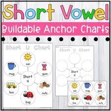 Short Vowel Posters Short Vowel Anchor Charts