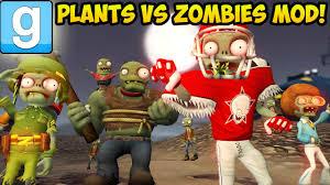 garry s mod plants vs zombies mod