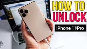 How to Unlock iPhone 11 / 11 Pro / 11 Pro Max - Passcode & Carrier Unlock -  YouTube