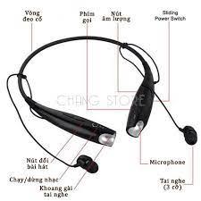 Tai nghe bluetooth thể thao HBS 730 kèm mic chống ồn nhỏ gọn, tiện lợi    Nông Trại Vui Vẻ - Shop