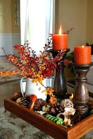 fall tree decorations fill a tray how to decorate for fall tree festive table decor ideas fall tree decorations