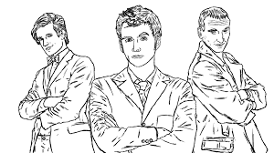 Small Picture Luxury Doctor Who Coloring Pages 59 With Additional Free Colouring