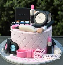 mac make up cake 3d amarantos melbourne cakes