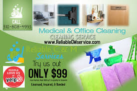 commercial cleaning flyer templates office cleaning reliable c m services llc