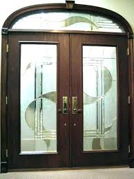 wood and glass front door beveled glass front door door ideas wood with beveled glass doors beveled glass