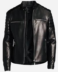 Hugo Boss Leather Jacket Mercedes Benz Amg Formula One Team