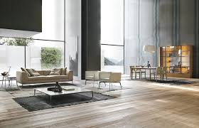 contemporary loft furniture. Large, Contemporary Loft Space With Beautiful, Minimal Furniture Contemporary-living-room E