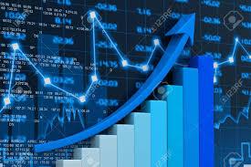 3d Stock Chart Stock Market Chart 3d Render