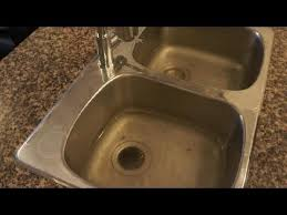 clogged drain how to unclog a clogged kitchen sink easy fix
