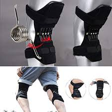 <b>1 Pair</b> Sport <b>Spring</b> Knee Joint Protection Boosters, Knee Pad ...