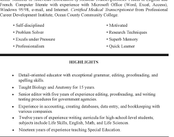 Resume : Free Teaching Resume Templates Resume With Regard To Free .