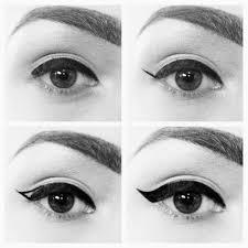 cat eye eyeliner tutorial easy step by step middot cat eye makeup