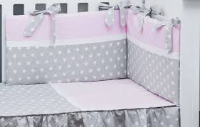 cot per and duvet cover 3 pieces set polka dots and stars collection