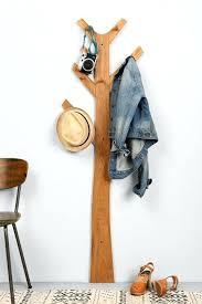 Wall Mounted Tree Coat Rack Simple Tree Wall Hook Taremaku