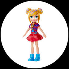 doll with trendy outfits image