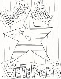 Thank You Veterans Day Coloring Pages Social Studies Veterans