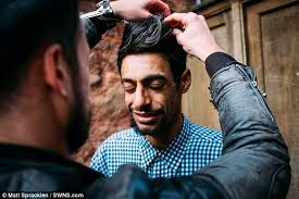 Exeter barber Joshua Coombes gives the homeless free ...